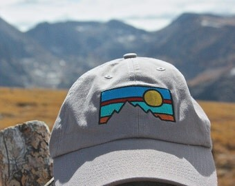 Mountain - Embroidered Dad Hat