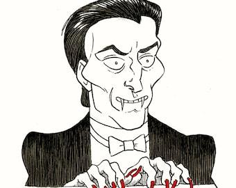 Inktober: Horace the Vampire