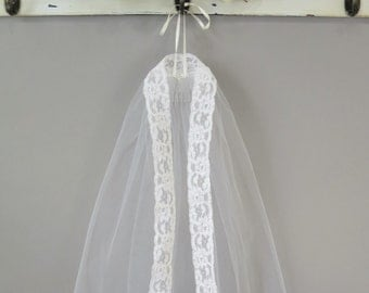 Mantilla Style First Communion Veil