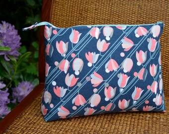 Tulip Knitting Bag with Zipper