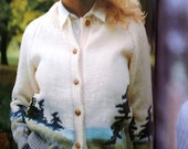 Reserved Patons Canada Knitting pattern booklet containing sweater patterns 80s vintage