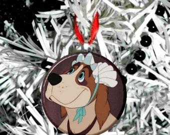 "Disney Peter Pan Nana the dog 2.25"" Ornament"