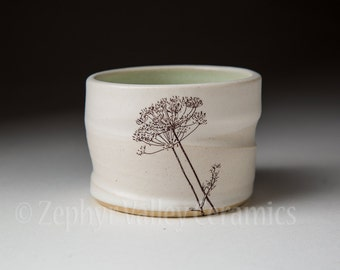 Pottery Barware - Whiskey Rocks - Votive Candle Holder - Ceramic Stoneware Cup - Ceramic Barware - Cotton Swab Holder