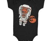 Astronaut Onesie - Romper Jumper Bodysuit StarWars Star Trek SciFi Tee Space Mars Moon Stars Science Geek Astronomy Awesome 2001 NASA Tshirt
