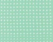 Blueberry Park fabric, Mint Green fabric, Karen Lewis Textiles, Best Seller, Quilting fabric, Flowerbed in Pond, Choose your cut