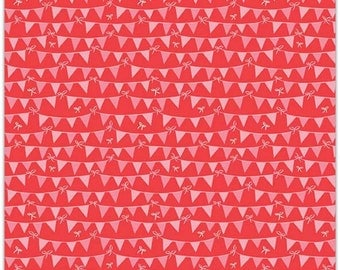 25% OFF Riley Blake Designs Tree Party Banner Red
