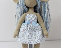 """Fantasy Art Doll - 14"""" Pose-able Poppet - Genevieve"""