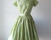 La Vert dress | vintage 1960s dress • vintage 60s dress