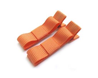 Creamsicle Hair Clips Creamsicle Bows Tangerine Hair Clips Tangerine Bows Orange Hair Clips Orange Tuxedo Bows Melon Hair Clips Melon Bows