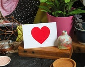 SALE: Heart greeting card cc141