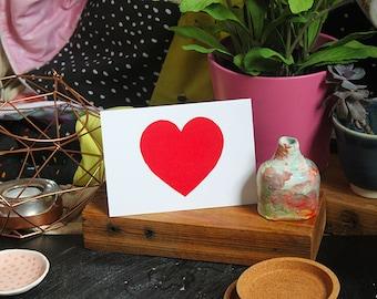 SALE: Heart greeting card cc141