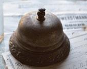 Antique Service Bell Front Desk Shop Hotel Metal Victorian Cast Iron