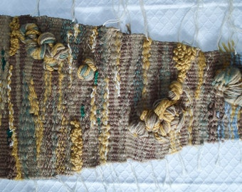 FOUND IN SPAIN -- Sumptuous fiber art wall hanging