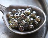 PINE FOREST BITS .. 50 Premium Czech Glass Rondelle Beads 2x3mm (5023-50)