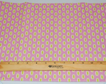 "Heather Bailey Bijoux Beads by Free Spirit 33"" End of bolt Cotton Quilting Fabric"