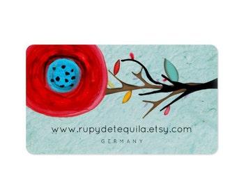 Business cards - Rupydetequila Art