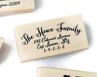 Return Address Stamp Style #7