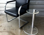 Vintage Lucite Side Table Mid Century Modern