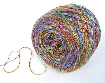 Hand Dyed Tencel Yarn Tencel Lace Yarn - Cedar Cove