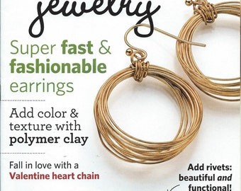 Step By Step Wire Jewelry Magazine February-March 2015 Issue