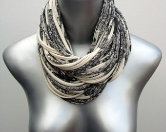 Cowl Scarf, Gift For Her, Gift for Women, Statement Necklace, Cotton Scarf, Infinity Scarf, Chunky Scarf, Gift, Girlfriend, Hipster