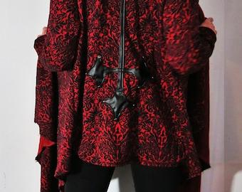 Hell Couture Countess Drape Hoodie