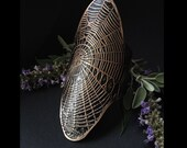 Spider Web Cuff - handmade out of copper in my Austin Tx Studio - by Jamie Spinello