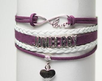 Jamberry Handmade Infinity style Bracelet