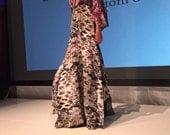Shaunte   snake skin skirt   Silk  Size small