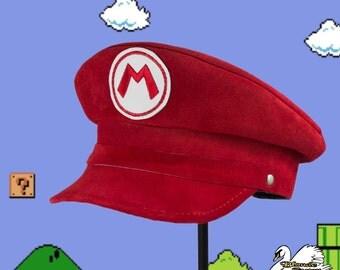 Mario Inspired Plumber Cap