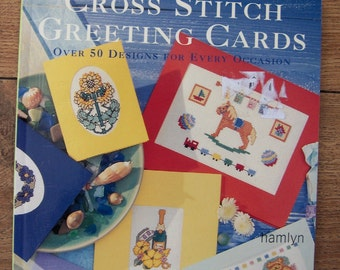 Cross Stitch GREETING CARDS over 50 designs