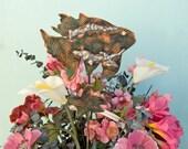 Fish Decor / Art / Metal / Sculpture / Yard Art / Garden Art / Copper / Plant Stake / Ocean / Beach / Nautical / Gift / Home / Outdoor