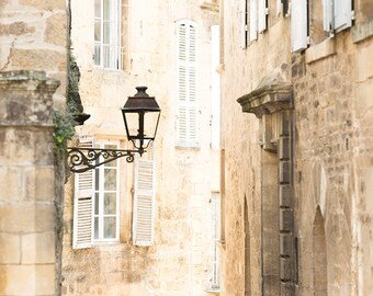 France Photography, Sarlat, France, Dordogne, French Home Decor, Europe Fine Art  Travel Photograph, Large Wall Art