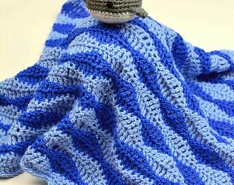 Baby Whale Lovey - PDF Crochet Pattern - Instant Download