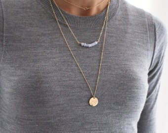 Gold Layered Necklace set - save 20% - dainty gold jewelry