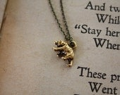Bear Necklace - Spirit Animal - Animal Totem - Ursa Minor - Constellation Necklace