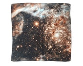 Doradus Galaxy Silk Handkerchief