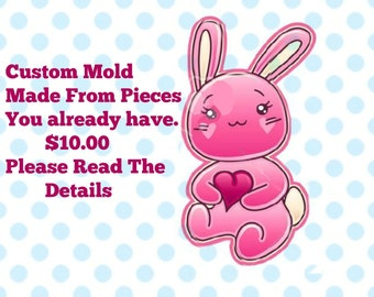 Custom Mold From PIeces I Make For you-