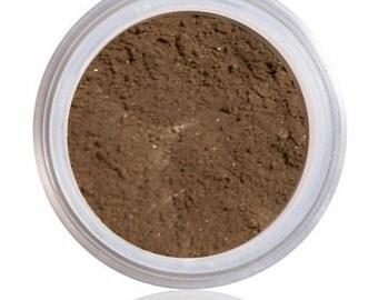 Mineral Foundation, Natural Makeup, Mineral Makeup, Natural Foundation,  MAHOGANY, Deepest Deep, Medium Dark to Dark Complexion