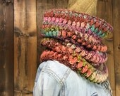 High Quality Rainbow Eclectic Crochet Cowl - KATHMANDU