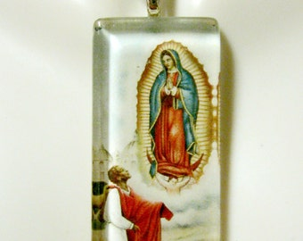 Lady of Guadalupe pendant with chain - GP01-103