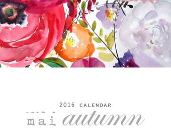 2016 Mai Autumn Calendar