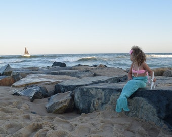 Mermaid Tail Costume - Toddler Mermaid Costume - Green Mermaid Costume - Green Mermaid - Green Mermaid Outfit - Mermaid - Mermaid Outfit