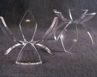 Large Acrylic Flower Egg Stand