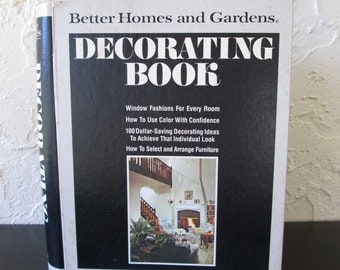 Better Homes and Gardens 1977 Binder Style Decorating Book