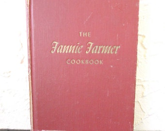 The Fannie Farmer Cookbook 1965 Eleventh Edition Vintage Cook Book