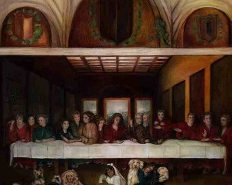 contemporary last supper