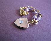 Heart Necklace for Dolls Blythe Pullip Dal etc.