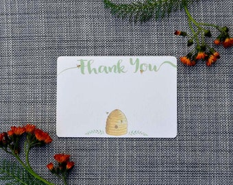 Printable Bee Thank You Note