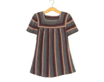Vintage Tent Top * 70s Sweater Shirt * 1970s Maternity Shirt * Medium - Large